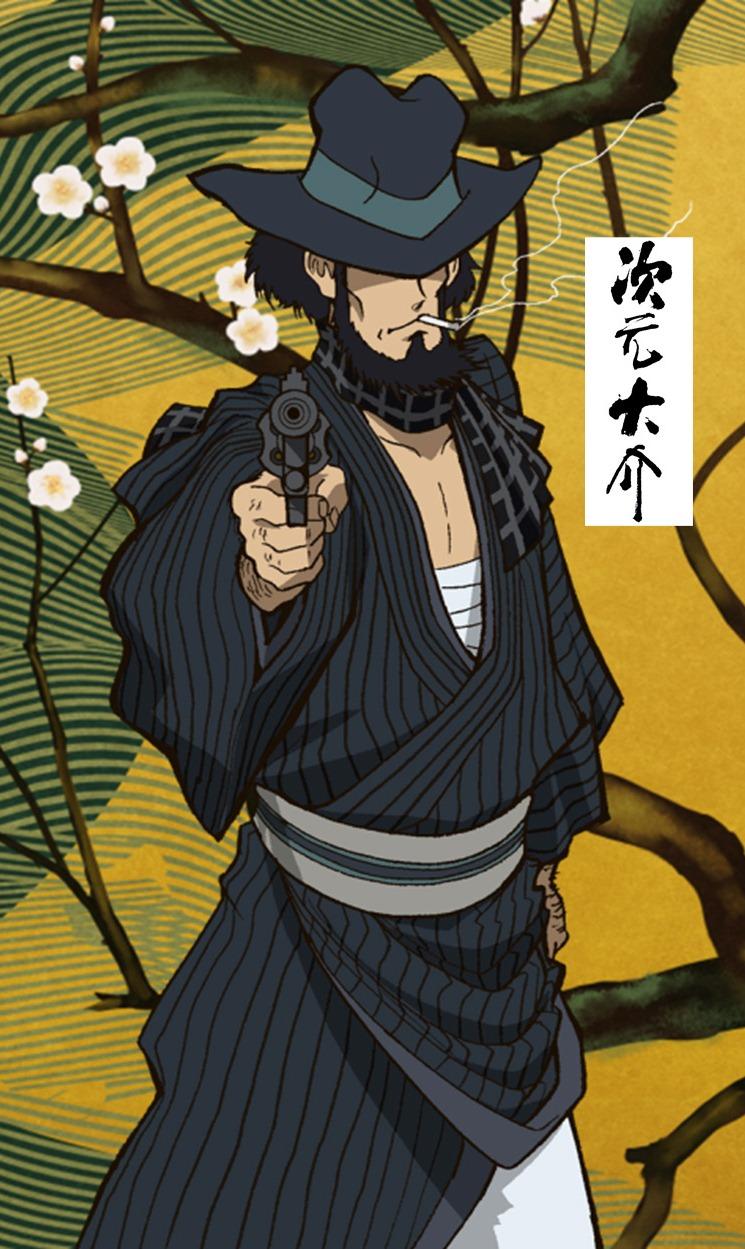 次元大介 角色設定 能力設定 射擊技術 武器使用 人物性格 人物刻畫