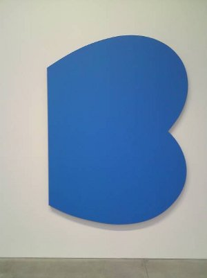 Ellsworth Kelly Blue Curves