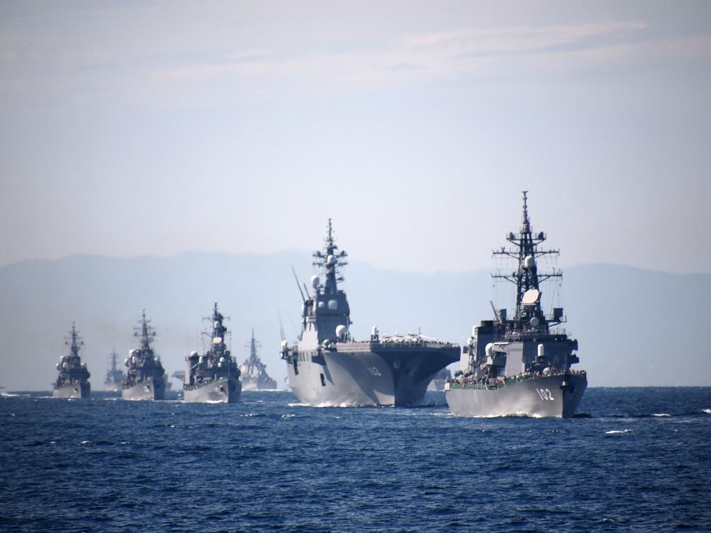 日本自衛隊 歷史沿革 法律限制 部隊職能 法定職責 救災為主 機構編制