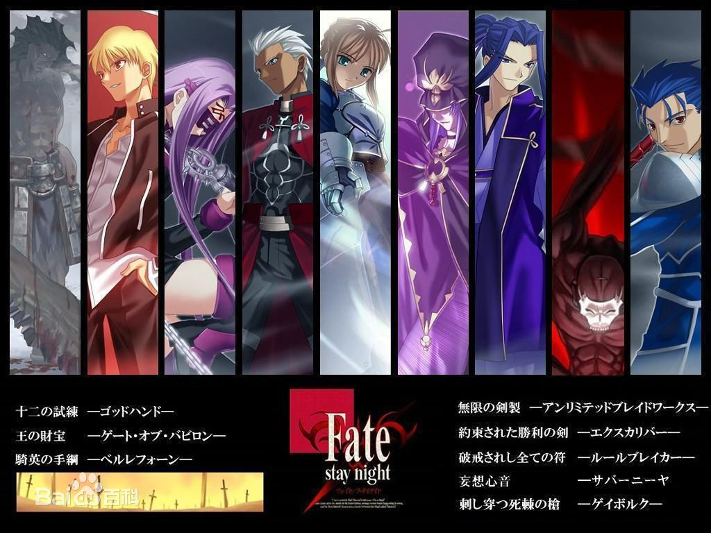 《Fate/stay night》