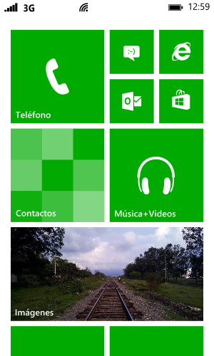 Windows phone 8界面