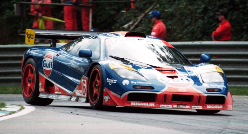 McLaren F1 GTR 96 Racing Version